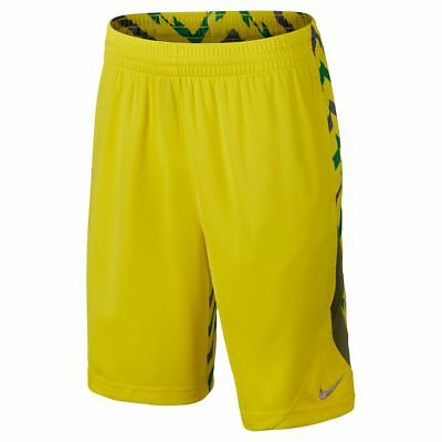 NWT Nike Basketball Avalanche Electro Lime Gray Shorts - Size Large L