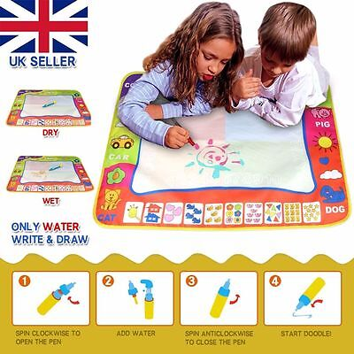 Aquadoodle Water Drawing Large Mat includes Pens KIDS Aquadraw Water Drawing Mat