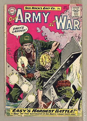 Our Army at War #99 1960 GD- 1.8