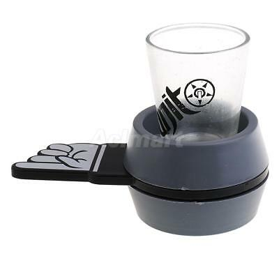 Spin the Shot Spinner Drinking Game Turntable Roulette Glass Adult Party Fun