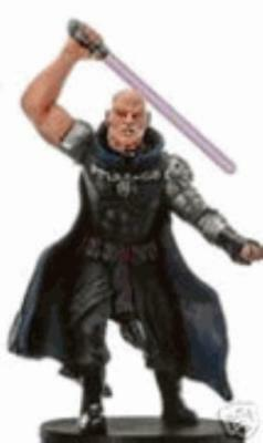WOTC Star Wars Minis Champions o/t Force Darth Bane NM