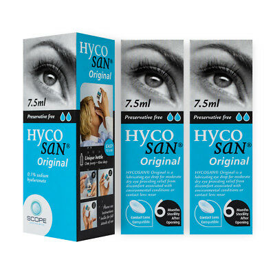 TRIPLE PACK of Hycosan Moisturizer 7.5ml