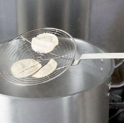 Stainless Steel Chinese Spiral Lifter Skimmer Deep Frying Strainer Heavy Duty