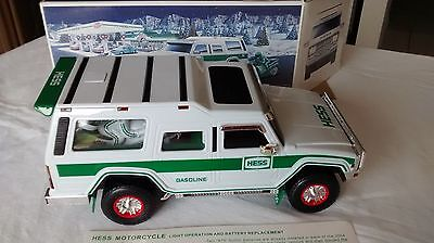 Hess Sport Utility Vehicle & Motorcycles-40th Anniversary-Brand New - Ships FREE