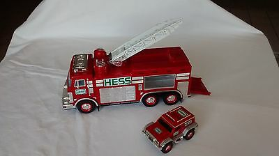 2005 Hess Fire Truck Toy with Lights & Sounds