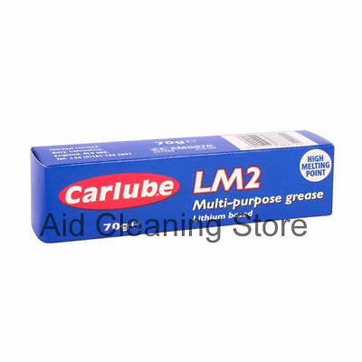 CARLUBE LM2 MULTI PURPOSE GREASE 70g HIGH MELTING POINT LITHIUM BASED