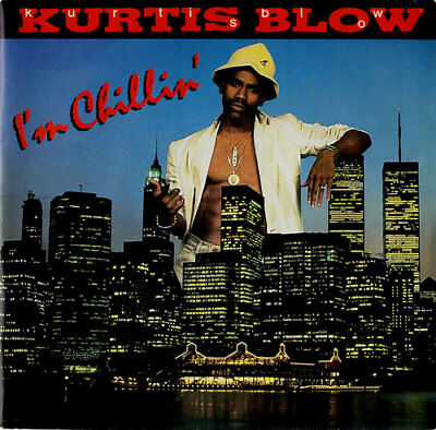 "Kurtis Blow I'm Chillin' UK 7"" vinyl single record promo JABDJ42 CLUB 1986"