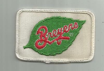 Vintage Breyers Ice Cream Company Delivery Truck Driver Patch Dairy Creamery