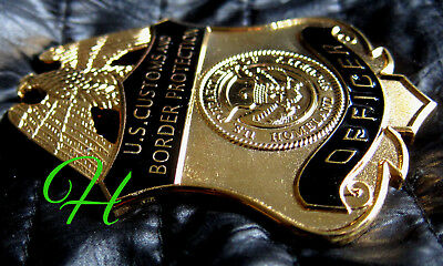 j6 Historisches police badge + Customs and Border Protection - Officer