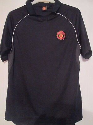 Manchester United Polo Football Shirt Size Large /43138