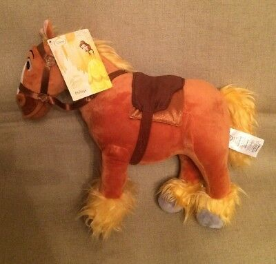 Disneystore  Authentic - Beauty And The Beast -  Philippe Plush Horse - Bmwt