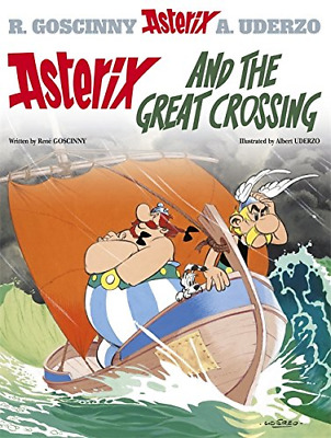 Asterix and the Great Crossing (Asterix (Orion Paperback)), Good Condition Book,