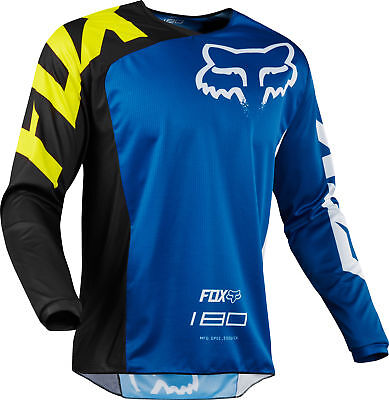 Fox Racing 180 Race Youth MX Offroad Jersey Blue