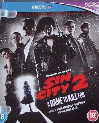 Sin City 2 A Dame to Kill For Digital HD UV Code UK