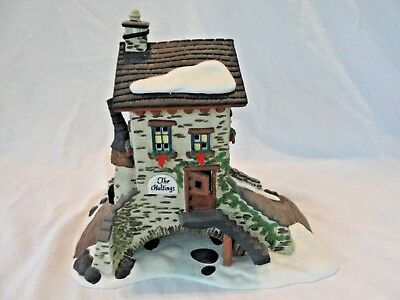 Dept 56 Dickens Village - The Maltings Christmas Cottage House - Retired 1995