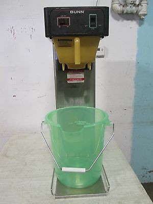 """BUNN TB3Q"" H.D. COMMERCIAL (NSF) 120V AUTOMATIC QUICK TEA BREWER w/4gal. BUCKET"