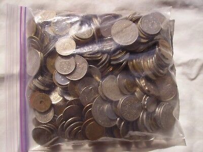 5 and One Half Plus Pounds of Mixed Foreign Coins #1