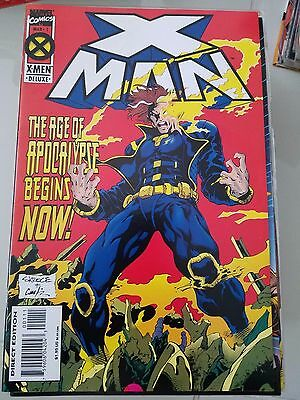 X-Man Lot Of 60 Issues (1995) Marvel Near Full Complete Series/age Of Apocalypse