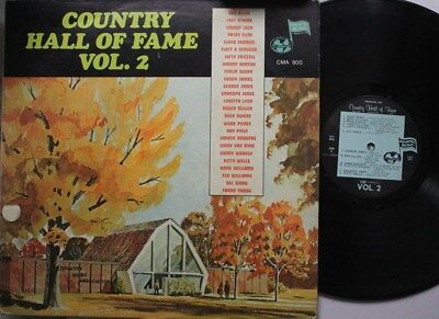 Country Lp Various Artists Country Hall Of Fame, Vol. 2 On Country Music