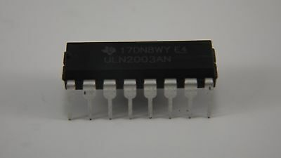2ea ULN2003AN Darlington Transistors NPN Texas Instruments