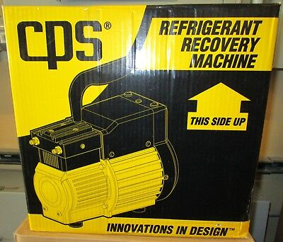Cps Pro Set Refrigerant Recovery Machine Tr21 Brand New