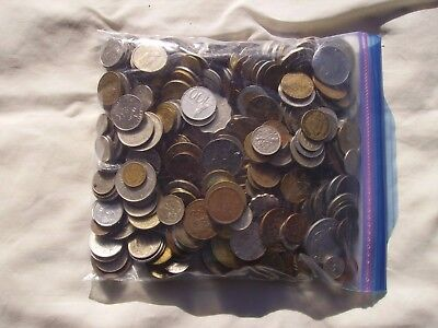Over 5 Pounds of Mixed Foreign Coins Lot #6