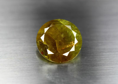 13.6 Cts_Gemstone Collection_100 % Natural Olive Green Demantoid Garnet_Russia