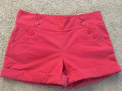 JUICY COUTURE Pink Dress Shorts Size 4