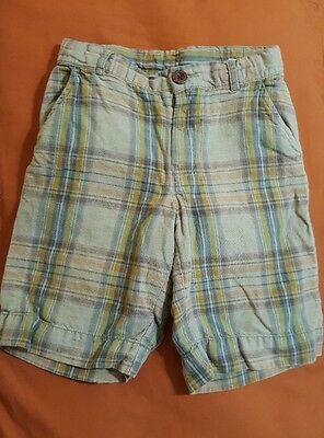 Boys, Gap Plaid Shorts, Size 5T