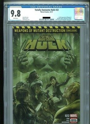 Totally Awesome Hulk #22 (CGC 9.8 NM/MT) (Marvel 2017) 1st Appearance Weapon H!