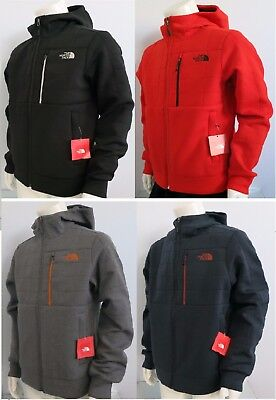THE NORTH FACE Men's Spacer Hoodie Fleece Jacket Black Grey Navy Red sz S M L XL