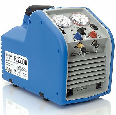 Promax Rg6000 Portable Refrigerant Recovery Machine