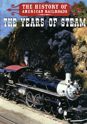 The History Of The American Railways - The Years Of Steaml  - All Region Dvd