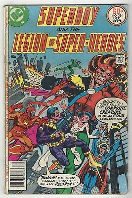 Superboy 234! Gd 2.0! Great Giant Size Bronze Age Dc Comic Book!