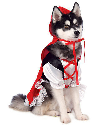Little Red Riding Hood Pet Dog Cat Story Book Halloween Costume