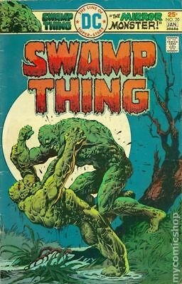Swamp Thing (1st Series) #20 1975 VG/FN 5.0 Stock Image Low Grade