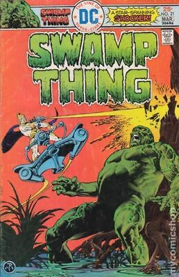 Swamp Thing (1st Series) #21 1976 FN- 5.5 Stock Image Low Grade