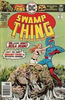 Swamp Thing (1st Series) #23 1976 FN- 5.5 Stock Image Low Grade