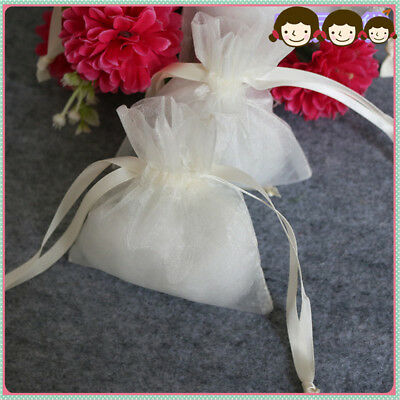 Organza Bag bomboniere Drawstring gift Jewelry Bags Pouches For Wedding Party ON