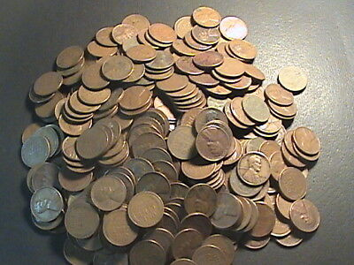 Almost Free To Good Home...cull Lot Of 100 Wheat Pennies ...culls/ag/good Coins