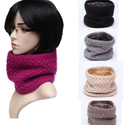 1 Circle Scarf Soft Chunky Warm Pullover Knit Long Loop Infinity Hood Cowl Scarf