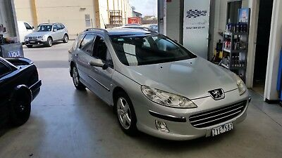 Peugeot 407 wagon 2006 model automatic 2.2 petrol engine. RWC supplied.