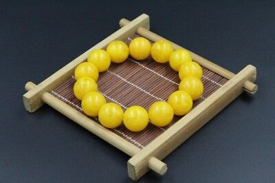 100% Baltic natural amber Bead Chicken oil yellow beeswax bracelet