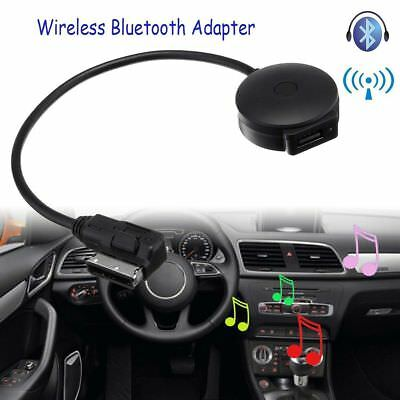 Car Wireless Bluetooth Music Adapter AMI MMI MDI AUX Interface Cable For Audi