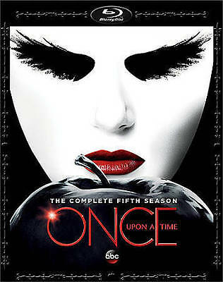 BLU-RAY Once Upon A Time: The Complete Fifth Season (Blu-Ray, 5-Disc Set) NEW