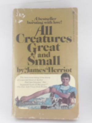 All Creatures Great and Small by James Herriot Paperback
