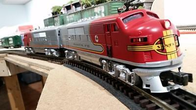 Williams Bachmann F3 Santa Fe Aa Pair Red War Bonnet Livery