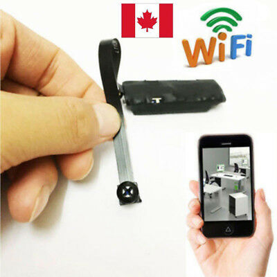 Spy Nanny CAM Wireless WIFI IP Pinhole DIY Small Screw Camera Mini Micro DVR CA