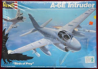 Vintage Revell A-6E Intruder - cat. 4578 - 1/48 scale - 1988 - Large & Sealed!