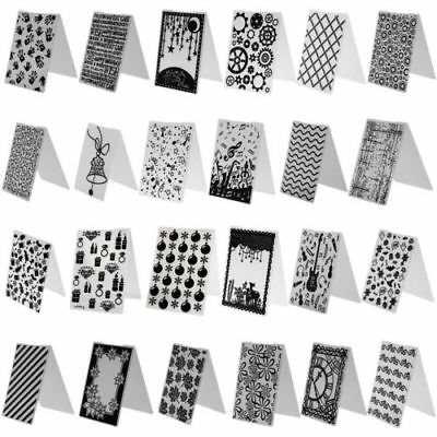 50 Types DIY Plastic Embossing Folder Template Die Cutting Scrapbooking Craft